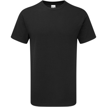 Abbigliamento Uomo T-shirt maniche corte Gildan H000 Nero