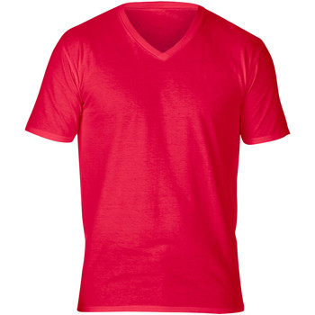 Abbigliamento Uomo T-shirt maniche corte Gildan GD016 Rosso