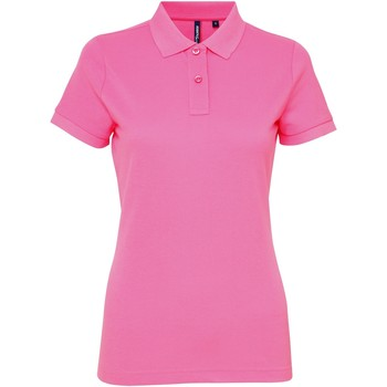 Abbigliamento Donna Polo maniche corte Asquith & Fox AQ025 Rosa neon