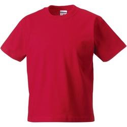 Abbigliamento Unisex bambino T-shirt maniche corte Jerzees Schoolgear ZT180B Rosso