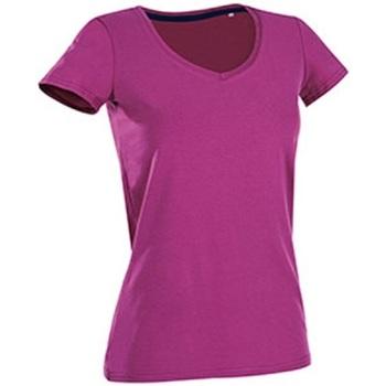 Abbigliamento Donna T-shirt maniche corte Stedman Stars Claire Fucsia