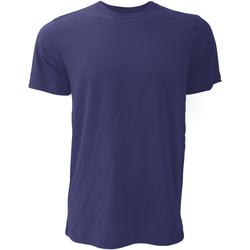 Abbigliamento Uomo T-shirt maniche corte Bella + Canvas CA3001 Blu Navy