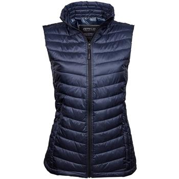 Abbigliamento Donna Gilet / Cardigan Tee Jays TJ9633 Blu scuro