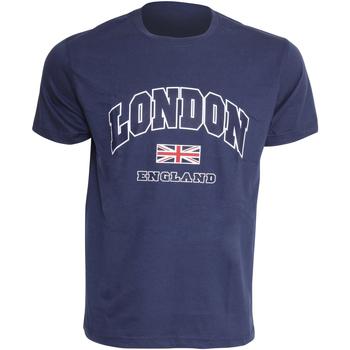 Abbigliamento Uomo T-shirt maniche corte England  Blu navy