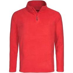 Abbigliamento Uomo Felpe in pile Stedman  Rosso