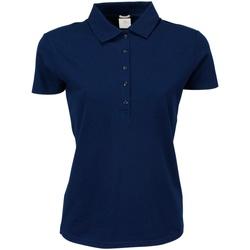 Abbigliamento Donna Polo maniche corte Tee Jays TJ145 Blu navy