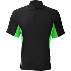 Abbigliamento Uomo Polo maniche corte Gamegear KK475 Nero/Lime/Bianco