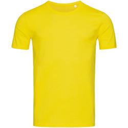 Abbigliamento Uomo T-shirt maniche corte Stedman Stars Morgan Giallo