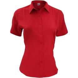 Abbigliamento Uomo Camicie maniche corte Henbury HB596 Rosso