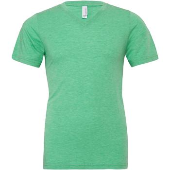 Abbigliamento Uomo T-shirt maniche corte Bella + Canvas CA3415 Verde