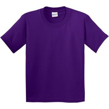 Abbigliamento Unisex bambino T-shirt maniche corte Gildan 5000B Viola
