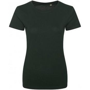 Abbigliamento Donna T-shirt maniche corte Ecologie EA01F Verde bottiglia