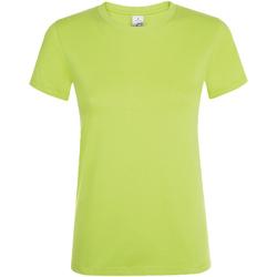 Abbigliamento Donna T-shirt maniche corte Sols Regent Mela