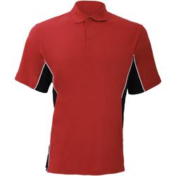 Abbigliamento Uomo Polo maniche corte Gamegear KK475 Rosso/Nero/Bianco