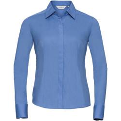 Abbigliamento Donna Camicie Russell 924F Corporate Blue