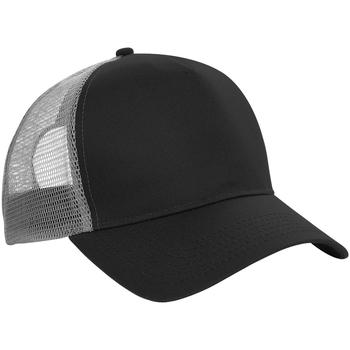 Accessori Cappellini Beechfield B640 Nero/Grigio chiaro
