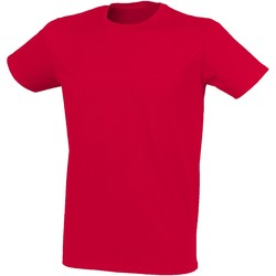 Abbigliamento Uomo T-shirt maniche corte Skinni Fit SF121 Rosso Melange