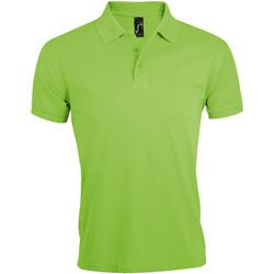 Abbigliamento Uomo Polo maniche corte Sols Prime Verde mela