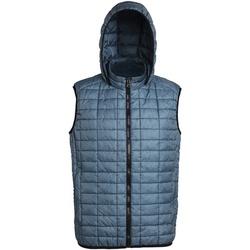 Abbigliamento Uomo Gilet / Cardigan 2786 Honeycomb Acciao