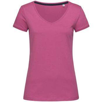 Abbigliamento Donna T-shirt maniche corte Stedman Stars Megan Fucsia