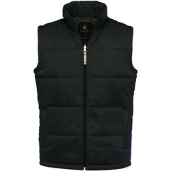 Abbigliamento Uomo Gilet / Cardigan B And C JM930 Nero
