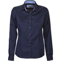 Abbigliamento Donna Camicie J Harvest & Frost JF006 Navy/Blu cielo