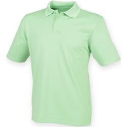 Abbigliamento Uomo Polo maniche corte Henbury HB475 Verde Lime