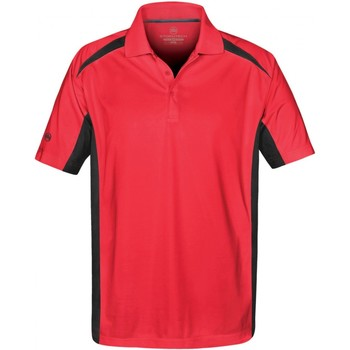 Abbigliamento Uomo Polo maniche corte Stormtech ST955 Rosso/Nero