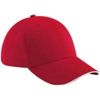 Accessori Cappellini Beechfield B20 Rosso Classico/Bianco