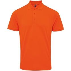 Abbigliamento Uomo Polo maniche corte Premier PR630 Arancio