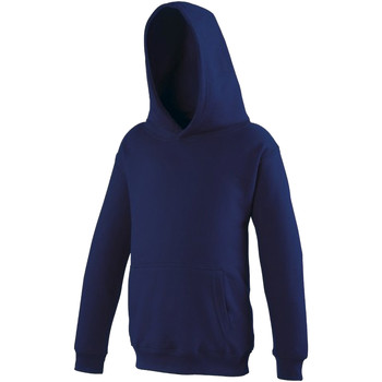 Abbigliamento Unisex bambino Felpe Awdis JH01J Blu Oxford