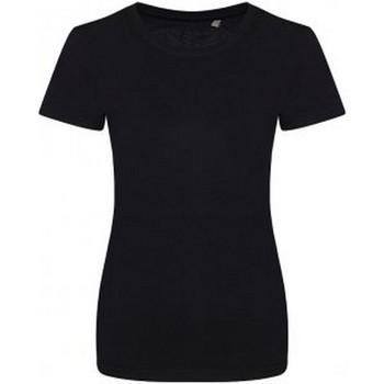 Abbigliamento Donna T-shirt maniche corte Ecologie EA01F Nero