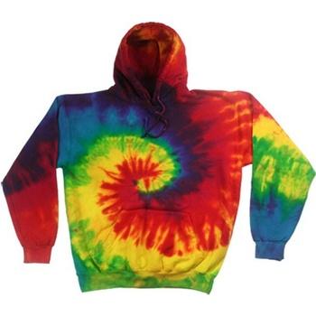 Abbigliamento Uomo Felpe Colortone TD31M Arcobaleno