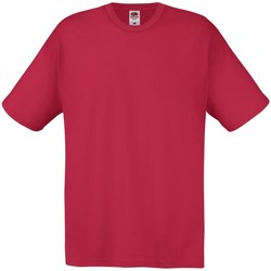 Abbigliamento Uomo T-shirt maniche corte Fruit Of The Loom 61082 Rosso Mattone