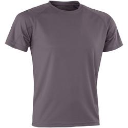 Abbigliamento T-shirt maniche corte Spiro Aircool Grigio