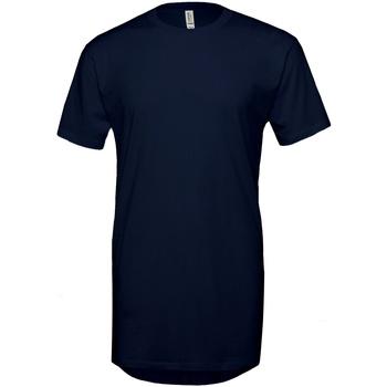 Abbigliamento Uomo T-shirt maniche corte Bella + Canvas Long Body Blu navy
