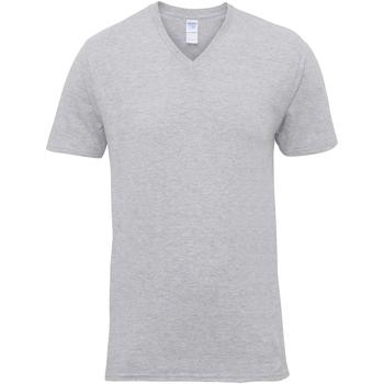 Abbigliamento Uomo T-shirt maniche corte Gildan 41V00 Grigio sportivo