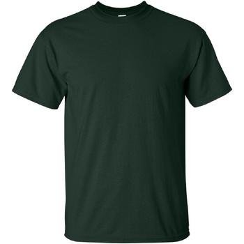 Abbigliamento Uomo T-shirt maniche corte Gildan Ultra Verde foresta