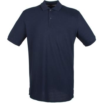 Abbigliamento Uomo Polo maniche corte Henbury HB101 Blu Oxford Navy