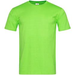 Abbigliamento Uomo T-shirt maniche corte Stedman  Verde kiwi