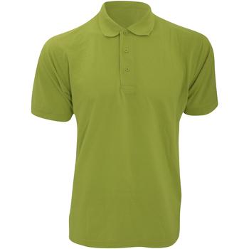 Abbigliamento Uomo Polo maniche corte Kustom Kit KK403 Verde mela