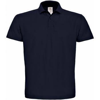 Abbigliamento Uomo Polo maniche corte B And C PUI10 Blu navy
