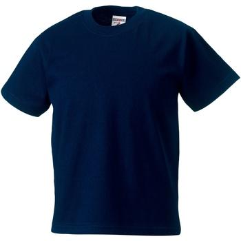 Abbigliamento Unisex bambino T-shirt maniche corte Jerzees Schoolgear ZT180B Blu scuro