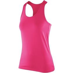 Abbigliamento Donna Top / T-shirt senza maniche Spiro SR281F Rosa candy