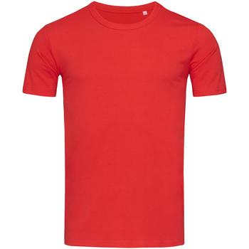 Abbigliamento Uomo T-shirt maniche corte Stedman Stars Morgan Rosso cremisi