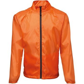 Abbigliamento Uomo giacca a vento 2786 TS011 Arancio/Nero