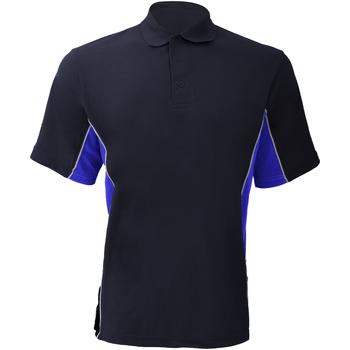 Abbigliamento Uomo Polo maniche corte Gamegear KK475 Blu navy/Blu reale/Bianco