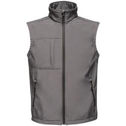 Abbigliamento Uomo Gilet / Cardigan Regatta TRA848 Grigio scuro/nero