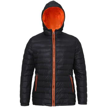 Abbigliamento Donna Piumini 2786 TS16F Nero/Arancio