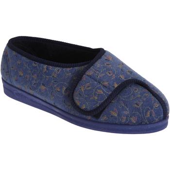 Scarpe Donna Pantofole Comfylux  Mirtillo